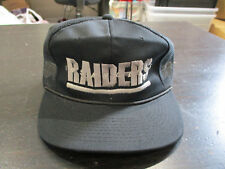 NEW VINTAGE Sports Specialties Los Angeles Raiders Trucker Snap Back Hat Cap 90s