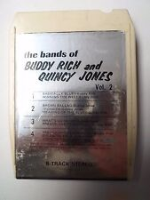 K7 - 8 track - THE BANDS OF BUDDY RICH AND QUINCY JONES VOL2 - ATHENA - 256 - US