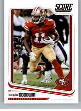 Marquise Goodwin 2018 Score #285 49ers
