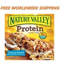 Nature Valley Protein Coconut Almond Granola Bars 6 Ct FREE WORLDWIDE SHIPPING