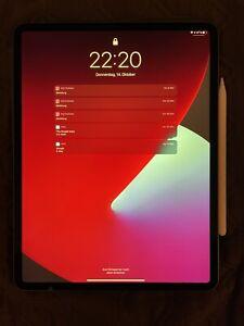 Apple iPad Pro 5. Gen 128GB, Wi-Fi, 12,9 - Space Grau Inkl. Apple Pencil 2. Gen