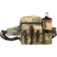 Outdoor Camo Gear Waist Fanny Pack, Mens Tactical Hunt Camp Hiking Bottle Bag