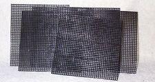 12 sheets 5 in x 5 in Bonsai Screen Material.