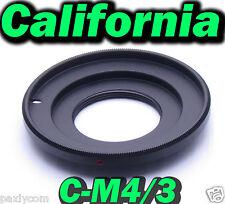 C Mount Lens to Micro m4/3 Adapter G1 GH1 GF1 EP-1 DMC E-P1 EP-2 E-PL1 E-PL2