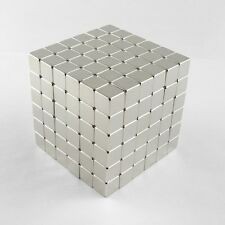 "216pcs 3/8"" x 3/8"" x 3/8"" Block 10x10x10mm Neodymium Magnets Rare Earth N35"