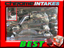 K&N+BLACK RED 86 87 88-92 TOYOTA SUPRA 3.0 3.0L V6 NON-TURBO N/A COLD AIR INTAKE