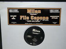 "MAXI 12"" Promo MILAN Contact / FILS CAPONE Juste une larme KTC002"