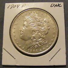 UNC 1904 Morgan Silver Dollar 90% Silver # 168707-11