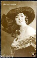 CARTE POSTALE PHOTO SIGNEE G.L. MANUEL Fres......MARTHE REGNIER....