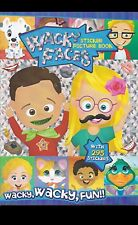 Wacky Faces Picture Sticker Book (With 150 Stickers for Wacky, Wacky Fun)  (e)