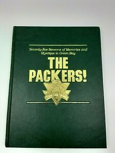 Rare!1993 Green Bay Packers 75 Seasons of Memories,by Cameron-limitd Ed. autogra