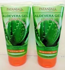2x150ml ALOE VERA Face Gel solution for pimples wrinkles & gives glowing face