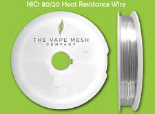 Nickel Cromo 80/20 Resistenza Cavo-0,4 mm (400 Micron o 26 AWG)-25 Metro Bobina