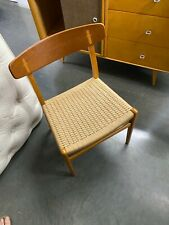 Hans Wegner CH23 Dining Chair Corded Seat Denmark Danish