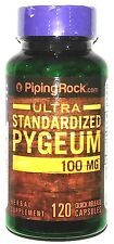 Ultra Pygeum 100mg Standardized to 12.5% Phytosterols Bark Extract 120 Capsules