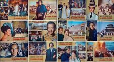 55 DAYS AT PEKING Italian fotobusta movie poster x12 CHARLTON HESTON AVA GARDNER