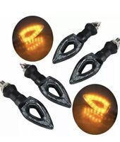 4 Indicatori di Direzione universali a led Segnale Frecce 12 LED per moto