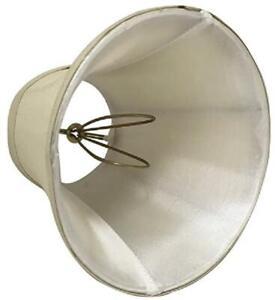 "Royal Designs~CSO-1023-5BG~Clip On~BEIGE~Chandelier Lamp Shade 3"" x 5"" x 4.5"""