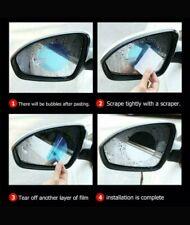 Car HD Rearview Mirror Glass Film Waterproof Nano Rain-Proof Window Membran 2pc