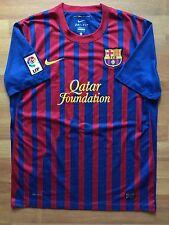 FC BARCELONA 2011 2012 SPAIN ORIGINAL NIKE HOME FOOTBALL SHIRT JERSEY