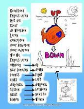 Kleurboek Engels Leren Met Vis Kleur de Woorden Leren Concepten Voor Kinderen...