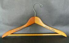 Vintage Skytop Club Penna PA Wooden Clothes Coat Hanger Pennsylvania Advertising
