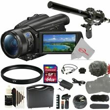 Sony Fdr-Ax700 4K Camcorder with Essential Accessory Kit