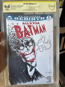 Joker sketch by Jock Detective Comics 880 style  CBCS 9.6 original art by Jock