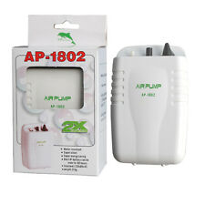 Live Bait Aerator Pump AP-1802 Portable Waterproof Air Pump for Bait Bucket