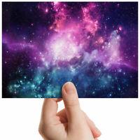 """Galaxies Purple Nebula Space Small Photograph 6"""" x 4"""" Art Print Photo Gift #2374"""