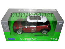 WELLY 24050 MINI COOPER S PACEMAN 1/24 DIECAST MODEL CAR RED