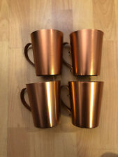 New listing Set of 4 Copper Moscow Mule 16 oz mugs Cups *New* Ships Out Asap!