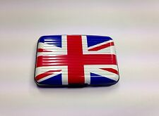 GB Union Jack Aluminium Credit Card Holder Business Cards Pocket Waterproof Case