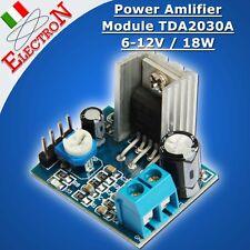MODULO AMPLIFICATORE TDA2030A 18W / 6-12V supply - Audio Amplifier Board Module
