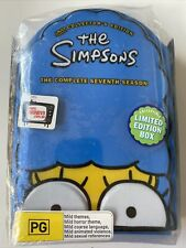 The Simpsons - Complete Season 7 (DVD, Limited Edition Box) Region 4- NEW SEALED