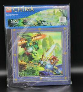 Lego Legends Of Chima Pocket Folders 2 Pack New Sealed