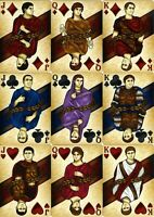 ROME: ANTONY & CAESAR PLAYING CARDS by RANDY BUTTERFIELD 2017 ~ 1 NEW + 1 OPEN