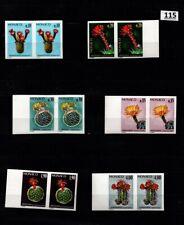 // 2X MONACO - MNH - IMPERF - FLOWERS, CACTUS, FLORA