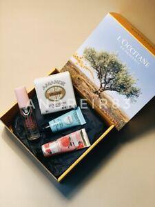 L'Occitane Gift Set Body Soap Ultra Thirst-Quenching Gel Hand Cream Perfume 20