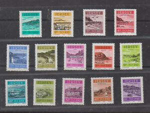 Great Britain (Jersey) Stamps 1982 Local Sceneries (Postage Dues)