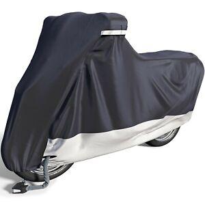 VELMIA [Größe S] Motorrad Abdeckplane Out-& Indoor I Roller Abdeckplane