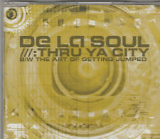 De La Soul-Thru Ya City/Art of getting jumped 4 track CD Single
