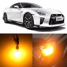 Alla Lighting Side Marker Light 194 2825 Amber LED Bulb for Nissan Maxima Murano
