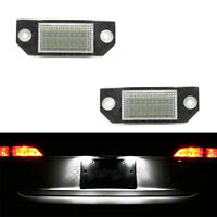 ECLAIRAGE PLAQUE LED FORD FOCUS 04-08 FEUX ARRIERES IMMATRICULATION BLANC XENON
