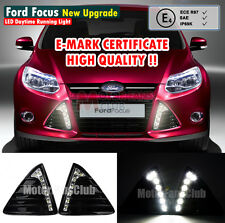 2x LED Car Daytime Running Light For Ford Focus Fog Lamp DRL 2011 2012 2013 2014