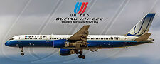 Untied Airlines Boeing 757 Photo Magnet (PMT1552)