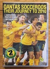 Qantas Socceroos - Their Journey to 2010 DVD + Bonus Disc Australia v Japan game
