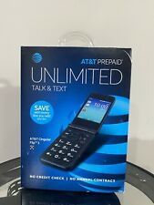 At&T Q28A Cingular Flip 3 Prepaid Cell Phone - Black Brand New