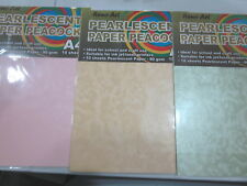 1 x Pearlscent Pink 1 x Pearlscent Gold 1 x Pearlscent Green- NRS