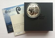 2017 Royal Mint 1000th Anniversary King Canute Silver Proof Five Pounds £5